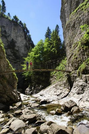 Chessiloch - Wasserfall & Hängebrücke