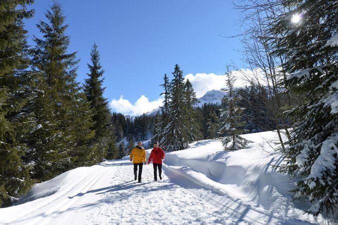Winterwanderung Rossweid - Salwideli - Kemmeriboden