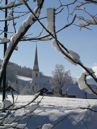 Schneeschuhtrail Dorf Marbach