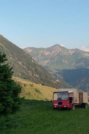 Sternenhimmelbett – Schottenhof Lochsitli