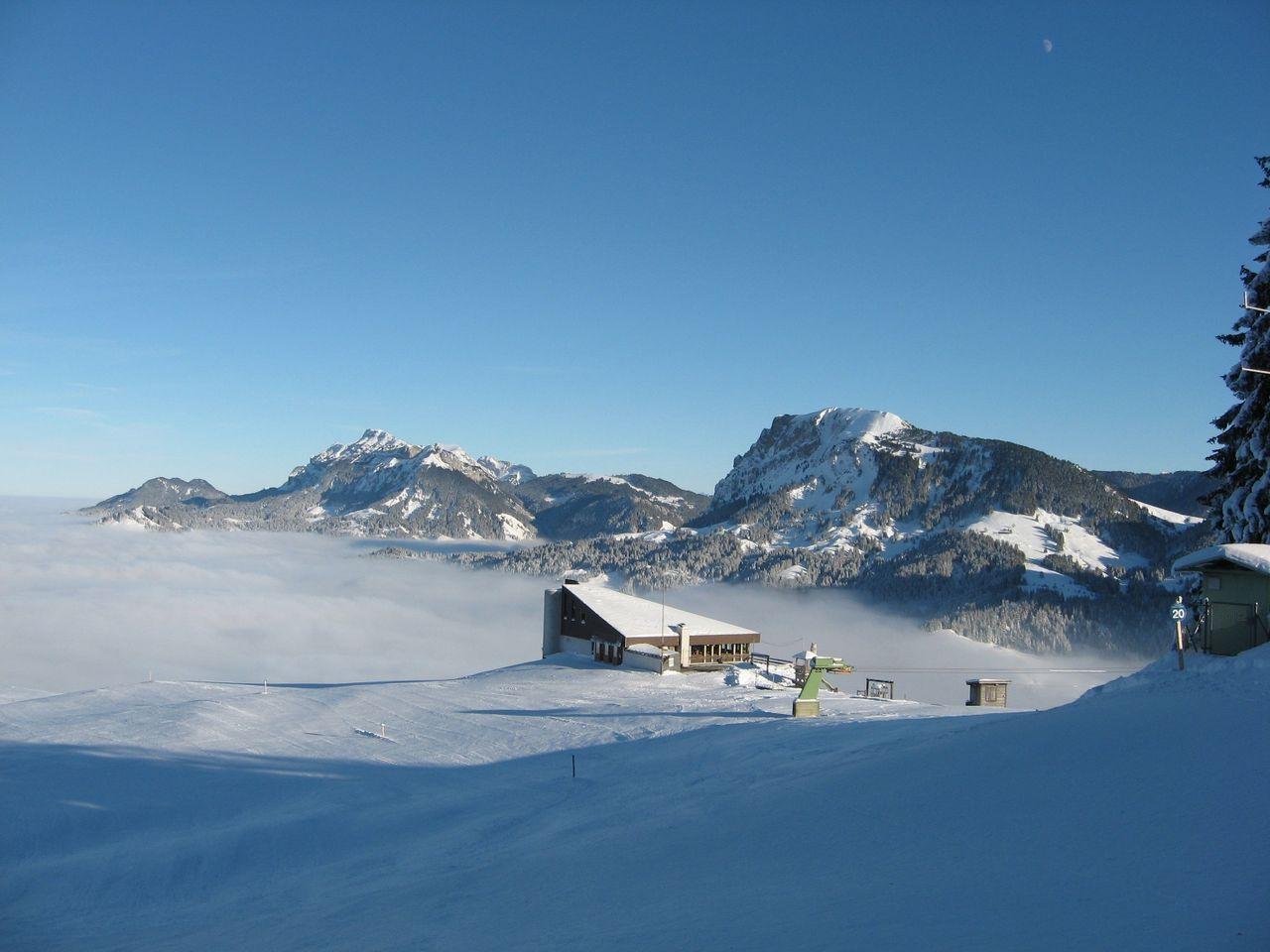 Schneeschuhtrail Heiligkreuz - Reistegg - First
