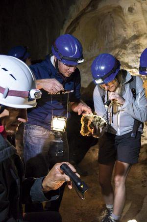 Exkursion «Eine Reise in die karstige Unterwelt»