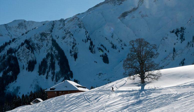 Winterwanderung zur Skihütte & Alphotel Schwand in Sörenberg