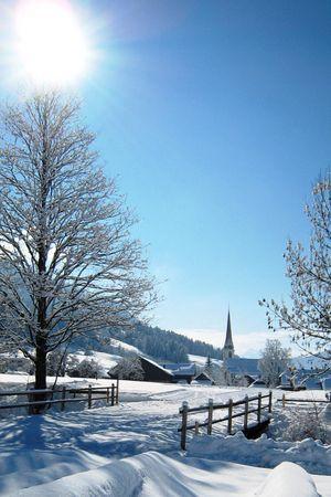 Winterwanderung Kuliniarisches Wintervergnügen in Marbach