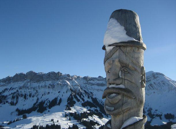 Winterwanderung Heiligkreuz - Reistegg - First