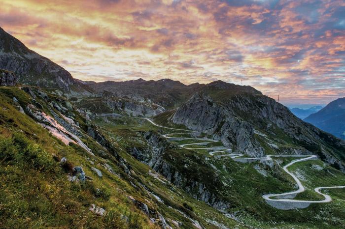 Spektakuläre Aussichten sind auf der Grand Tour of Switzerland garantiert
