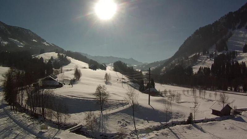 Winterwanderung Rund um den Golfplatz in Flühli