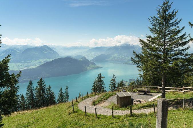 Tell-Trail Etappe 3: Brunnen - Rigi Kaltbad - Luzern