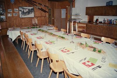 """Gruppenunterkunft """"Schwyzerhüsli""""/ SCNS"""