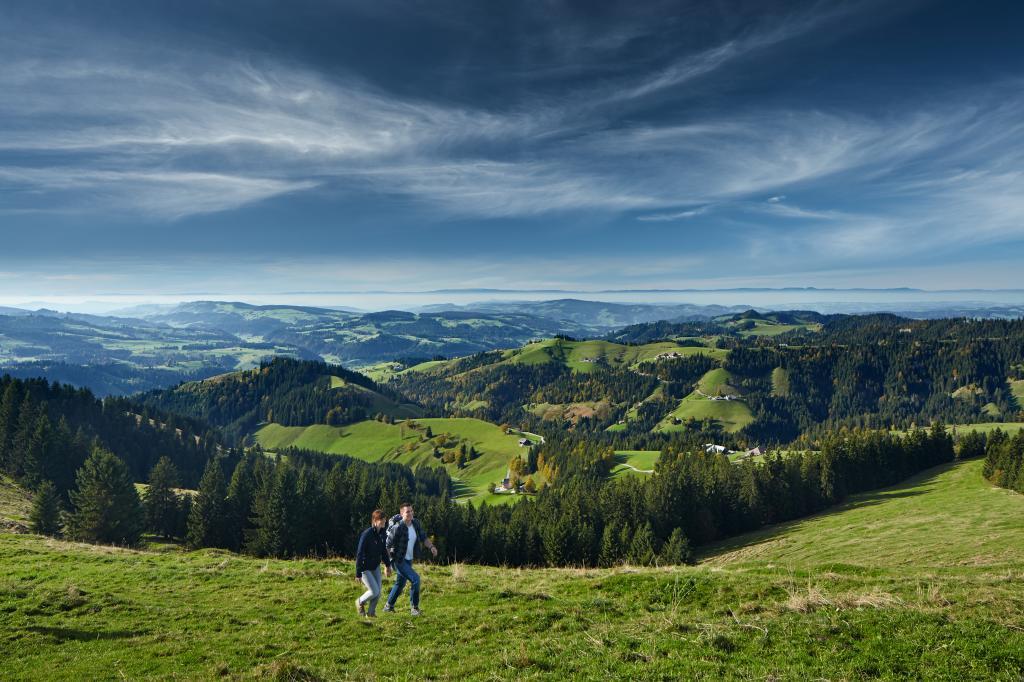 Höhenweg Entlebuch Emmental - Etappe 5: Grosshorben – Schangnau