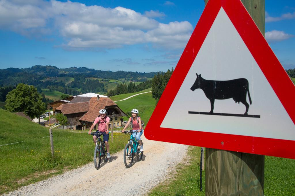 Alles ausser langweilig -E-Bike Rundtour Herzschlaufe Napf