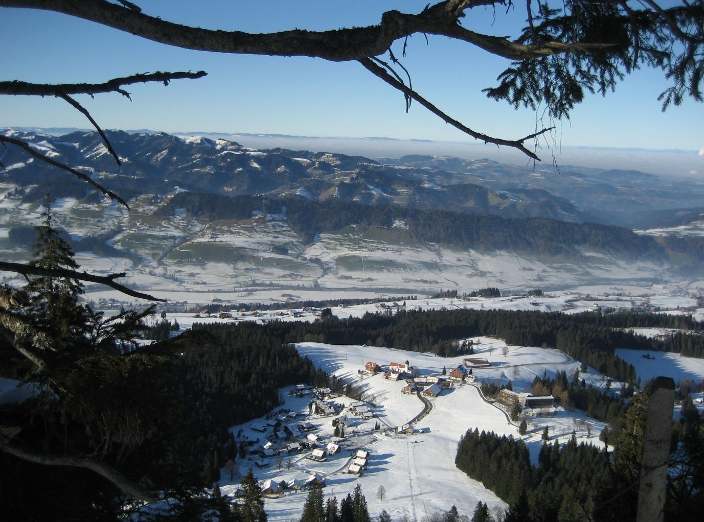 Heiligkreuz - Reistegg - First