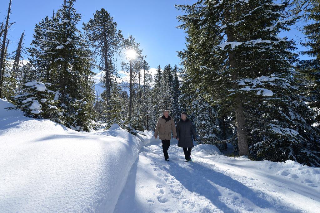 Winterwanderung Gastronomische Rundwanderung Sörenberg