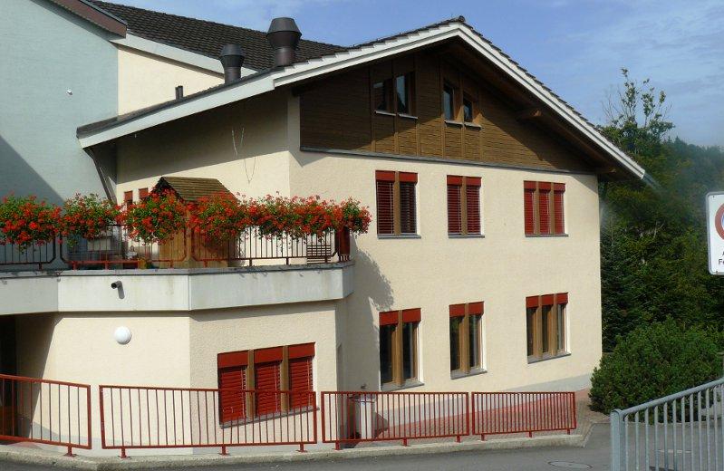 Mehrzweckgebäude Romoos